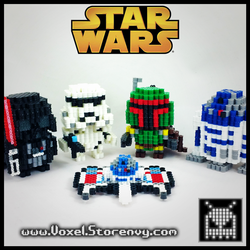 Star Wars by VoxelPerlers