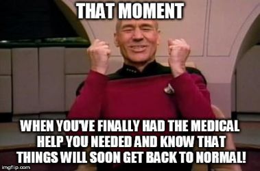 Picard is SO happy! by menslady125