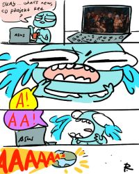 The Witcher 3, doodles 242 by Ayej