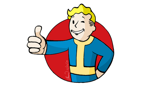 Vault Boy by ThatOneCapArtist