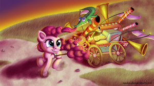 Never Too Late for the Welcome Wagon by Esuka
