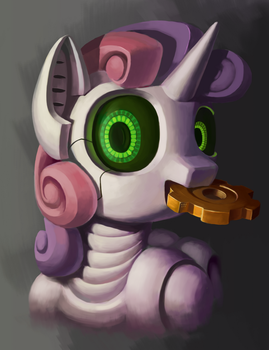 Sweetie bot by DraconidsMXZ