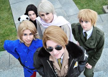 Axis Powers Hetalia: The Allies by YamaCos
