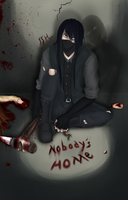 Nobody's Home [+speedpaint] by IvyDarkRose