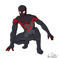 Spider-Man (Miles Morales) by Ismar33