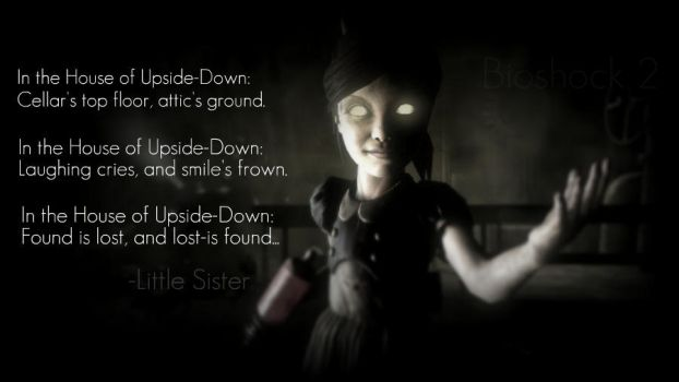 In the House of Upside-Down by Miss-Short-Cake