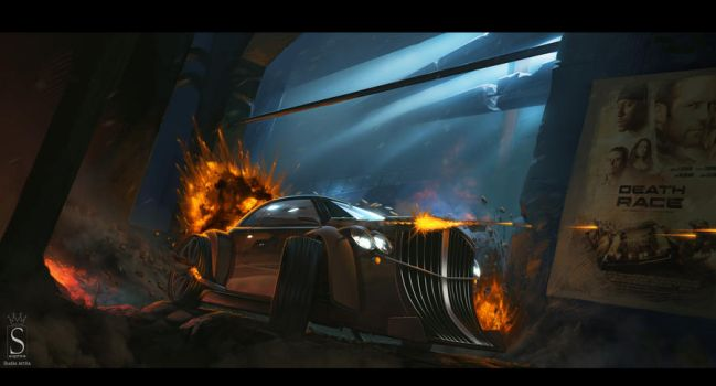 Death Race by SaphireDesign