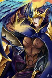 Champion Quinn and valor by yami11