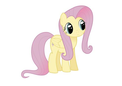 Fluttershy made digital by nuuvox