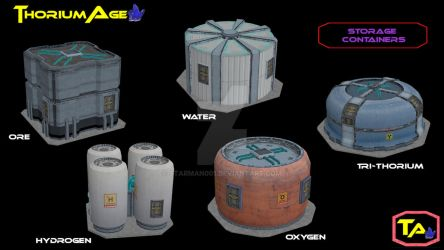 Storage Containers by Starman001