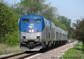 AMTK 168 and AMTK 118 lead Amtrak 303 by EternalFlame1891