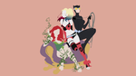 Catwoman, Harley Quinn, Poison Ivy | Minimalist by Sephiroth508