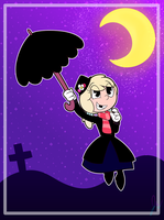 Gretchen as Mary Poppins by 6-O-Hundred657