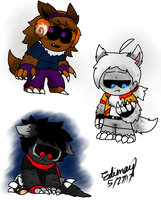 If Edimay's friends turns into werewolves by Edimay