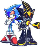 Sonic And Shard CL by trunks24