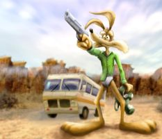 Wile E. Coyote by gbrsou