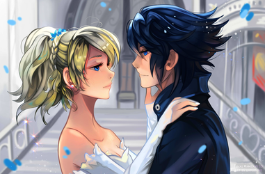 +Luna and Noctis - Stand by Me+ by larienne