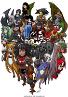 Monster girls on tour crowdfunding campaign by KukuruyoArt