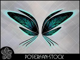 Charmed Fey Wings 004 by poserfan-stock