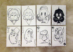 Undertale Cards Set - Aces and Twos by TawnySoup