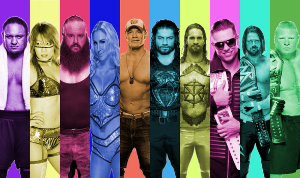 WWE Tournament of  Power team by RobertoVile