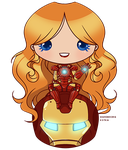 [Pagedoll] Iron Moni by wandering-kotka