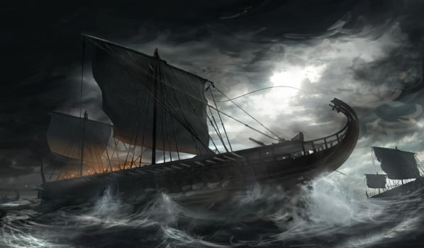 Rough Seas by matchaTeaPosts
