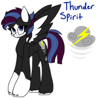 Thunder Spirit by SpaazleDazzle