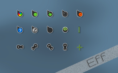 Eff cursors by tchiro