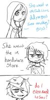 Ray gets lost in a mall ? by AK-47x