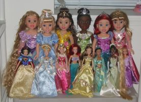 My Disney Doll Collection by FluidGirl82