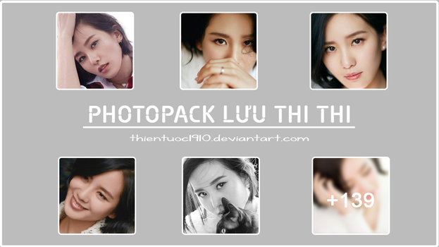 [SHARE] Photopack Cecilia Liu by ThienTuoc1910