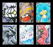Crazy Pokemon - ATC - for Nepi