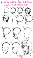 How to Draw Face Side Views by Wavikz