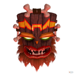 Crash Bandicoot (NST) - Uka Uka by MrUncleBingo