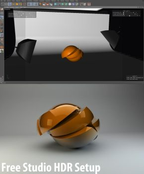 Free Studio HDR setup by 3DEricDesign