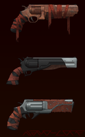 Hell Revolver Concepts Commission by Nano-Core