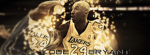 61. Kobe Bryant by sfegraphics