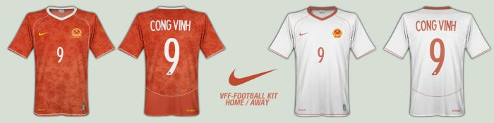 Nike Vietnam Football Kit by zARTs