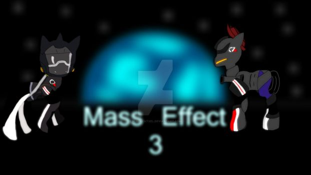 Total Brony Party Presents: Mass Effect 3 by BlackCatXel