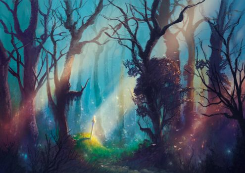 The heart of the forest by elbardo