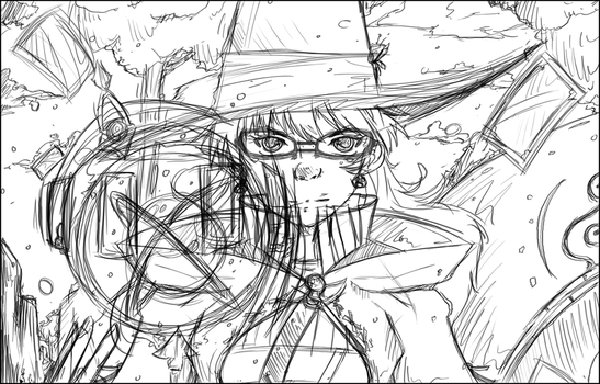 FFXIV - Astrologian Rough Work by RoboEight