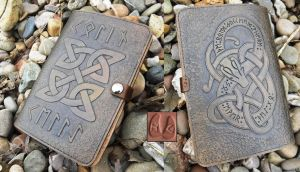 Celtic Kindle Cover by Half-Goat
