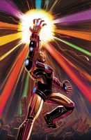 iron man . Infinity Gauntlet by Haseo1970