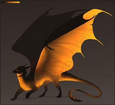 Volcanic Dragon Auction [ CLOSED ] by Haskiens