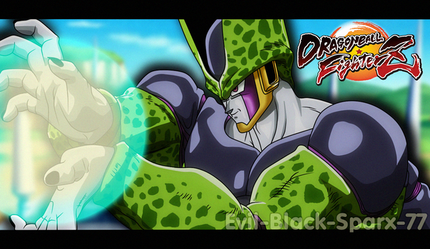 Dragon Ball FighterZ - Cell by Evil-Black-Sparx-77