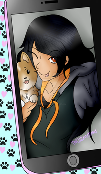 Aph and Jet(Speedpaint) by TheLILCrazyMoney