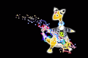 Rockin Ampharos Wallpaper