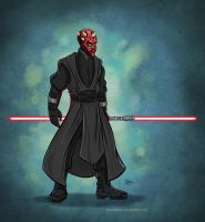 Darth Maul by SuperEdco