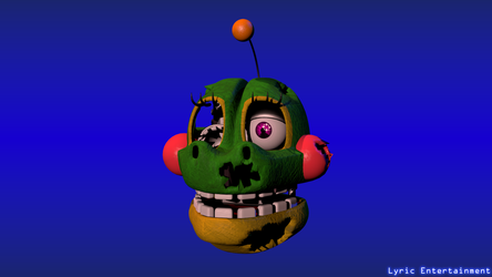 (Blender) Withered Happy Frog WIP by LyricEntertainment
